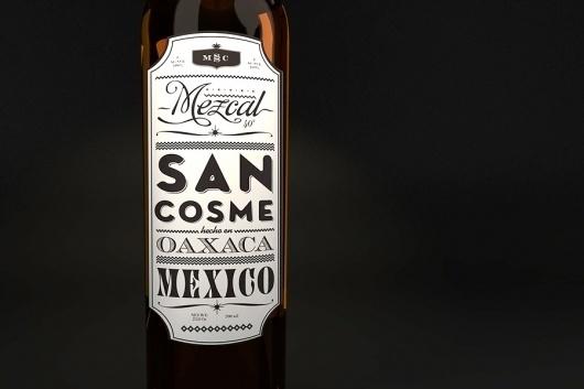 Mezcal San Cosme - SAVVY #branding #packaging #identity #symbol #logo