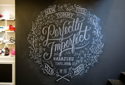 Dana Tanamachi | Custom Chalk Lettering - Journal #chalk #chalkboard #drawn #type #hand
