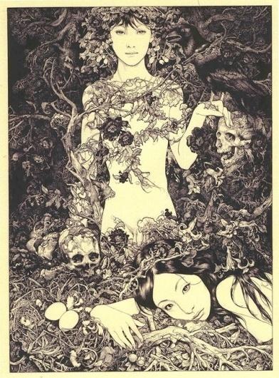 Vania Zouravliov - BOOOOOOOM! - CREATE * INSPIRE * COMMUNITY * ART * DESIGN * MUSIC * FILM * PHOTO * PROJECTS #illustration #vania #zouravliouv