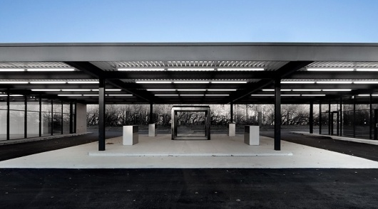 les architectes FABG: mies van der rohe gas station conversion #architecture