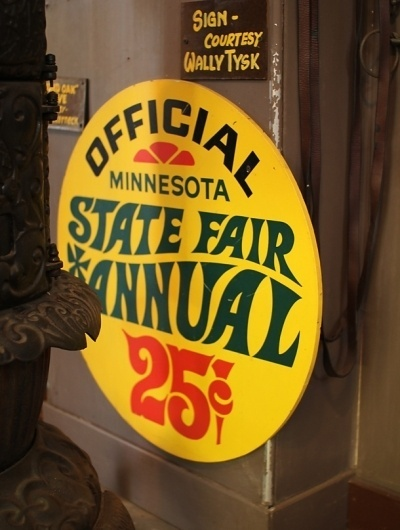 Badge Hunting: A Day at the MN State Fair | Allan Peters #typography