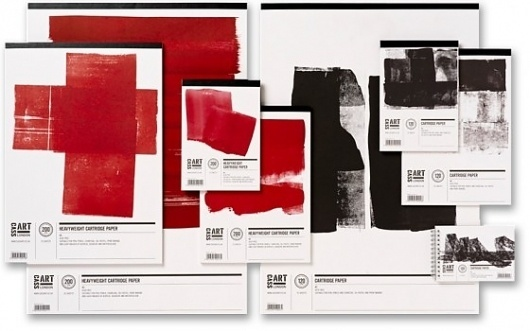 Friday Inspiration 85 | Jared Erickson #black #paint #red #branding