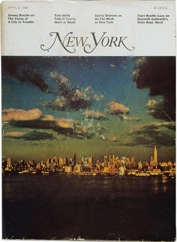Mark Porter » Blog Archive » The man who invented New York #cover #photography #york #magazine #new