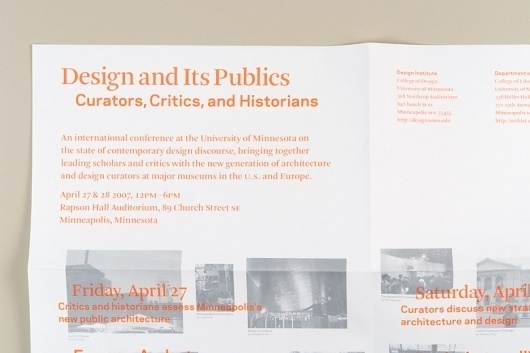 Project Projects — Design and its Publics #type #poster