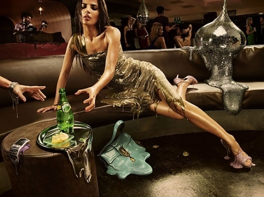 Onestep Creative - The Blog of Josh McDonald » Perrier Ad Campaign #campaign #ad #perrier #girl