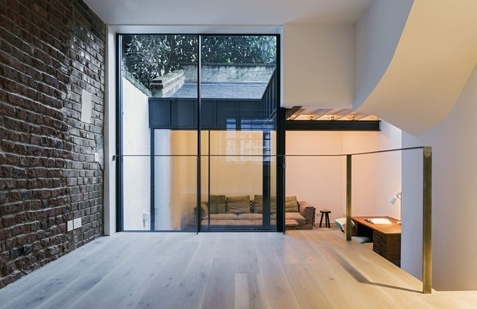 Fitzrovia House by West Architecture #interior #minimalist