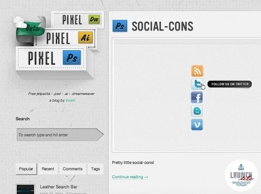 James - ROCK'N & ROLL'N - Graves #digital #web #interface
