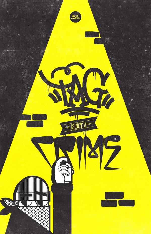 VARIOS!!! on Behance #design #tag #art #street #character #crime