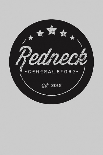 Joe Scalo / Pinterest #circle #redneck #modern #2012 #design #hipster #stars #distressed #vintage #logo