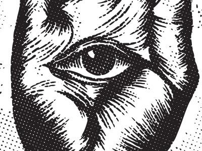 Dribbble - Were Watching You. by Super Top Secret #eye #seeing #hand #illuminati