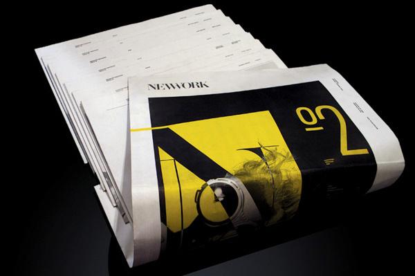 NEWWORK MAGAZINE, Issue 2 #graphic #newspaper #layout #typo #magazine