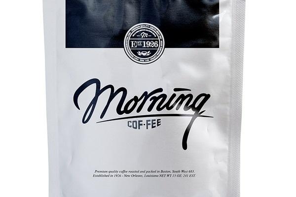 Good Morning Coffee Identity by Kimberley ter Heerdt and Joost Huver #branding #packaging #identity #coffee #logo #typography