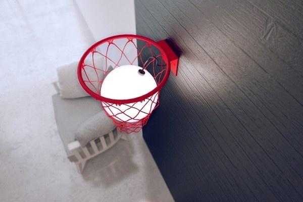 light ball 3 #ball #lamp #light #basket