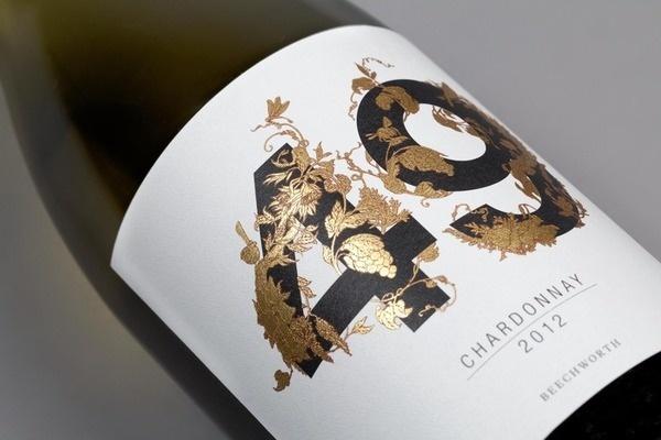 Studio profile — Maud #leaf #label #wine #gold #typography