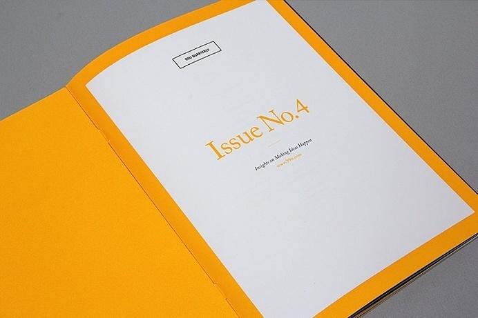 Editorial Design Inspiration: 99U Quarterly Mag No.4 #mag