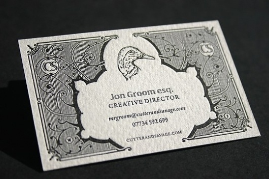 Blush°° Bespoke & custom letterpress printing in the UK » Business Cards
