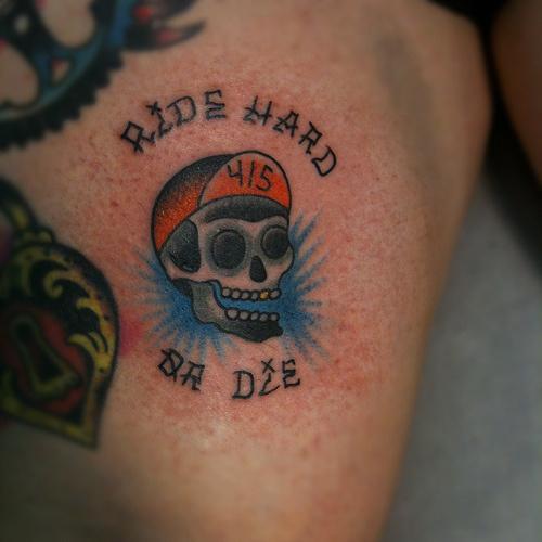 bike tattoo #tattoo