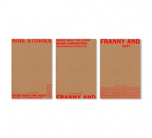 Little Fury :: JD Salinger #print #typography #book