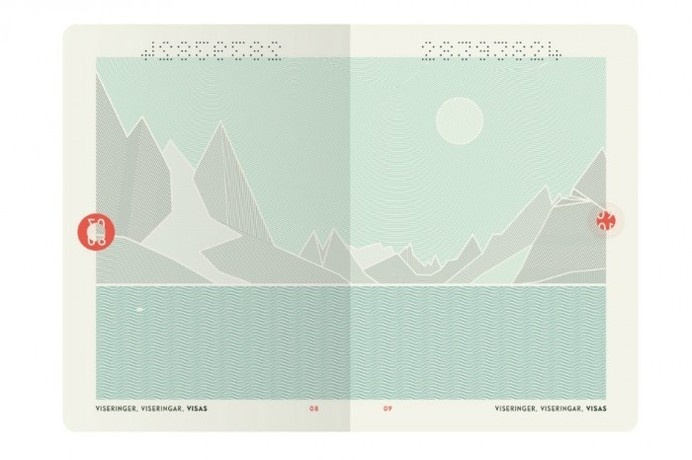 Norway's New Passport Design is a Thing of Beauty #passport #design #graphic