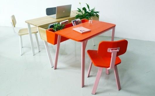 Ineke Hans Studio - Swing Wing collection #hans #ineke #chair #office #furniture #desk