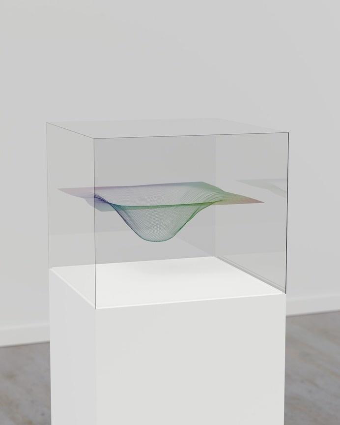 Zachary Norman - Exotic Matter #displacement #sculpture #map