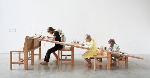Make Mistakes. #clever #family #desk #wooden