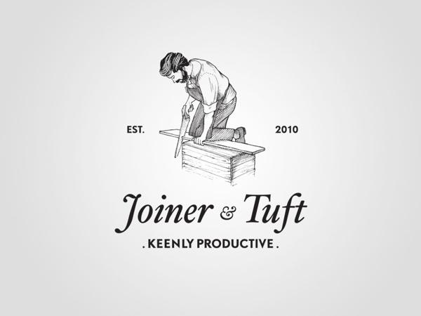 Joiner & Tuft #joinerandtuft #brand #illustration #identity #pipe #fabiomaragoni #logo
