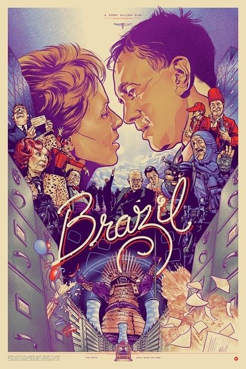 Brazil by Martin Ansin #illustration #design #graphic #art