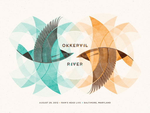 okkervil_river_big #birds #okkervil #river #poster