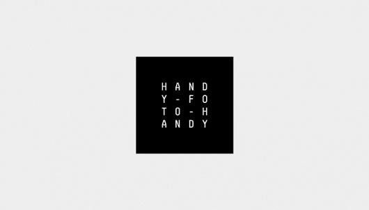 Handyfotohandy Identity | LANUNDZART #logo #identity