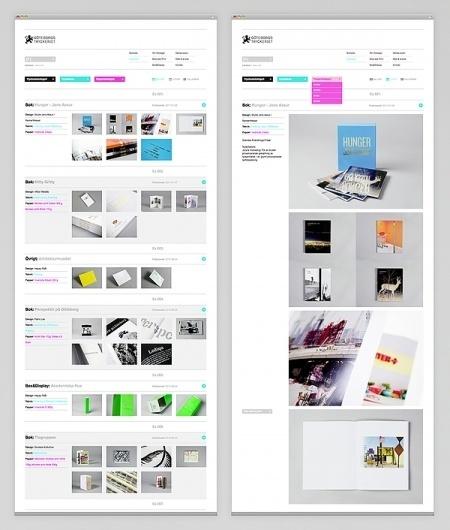 Göteborgstryckeriet on the Behance Network #website #design