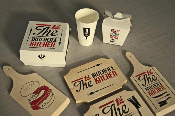 Butcher's Kitchen / Identity on Behance #meat