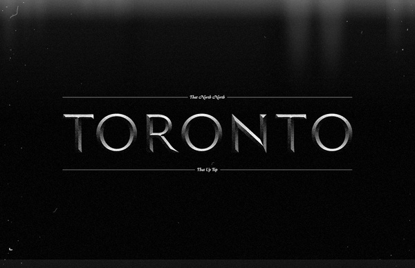 RVIZ – Further Beyond #lettering #type #toronto #3d #typography