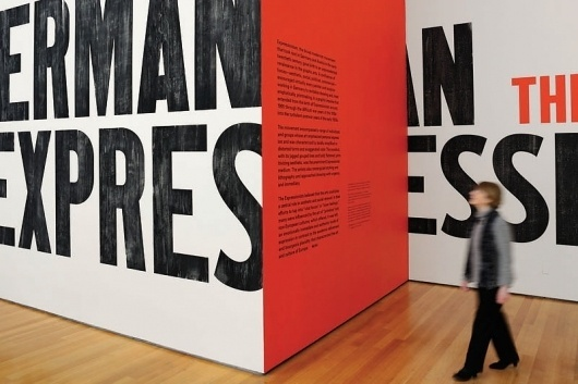 The Department of Advertising and Graphic Design #expressionism #moma #german