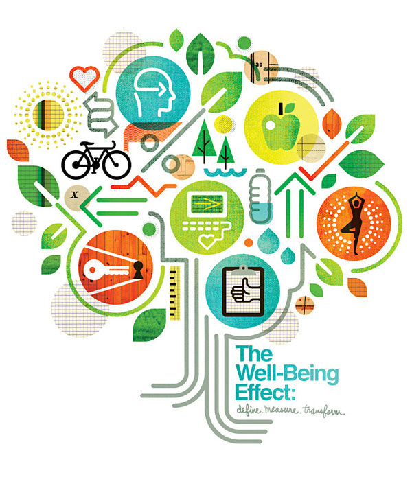 Healthways Well-Being Summit, by Matt Lehman #inspiration #creative #tree #design #graphic #medicine #illustration #colorful