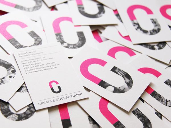 Creative Underground on Behance #business #branding #application #brand #cards