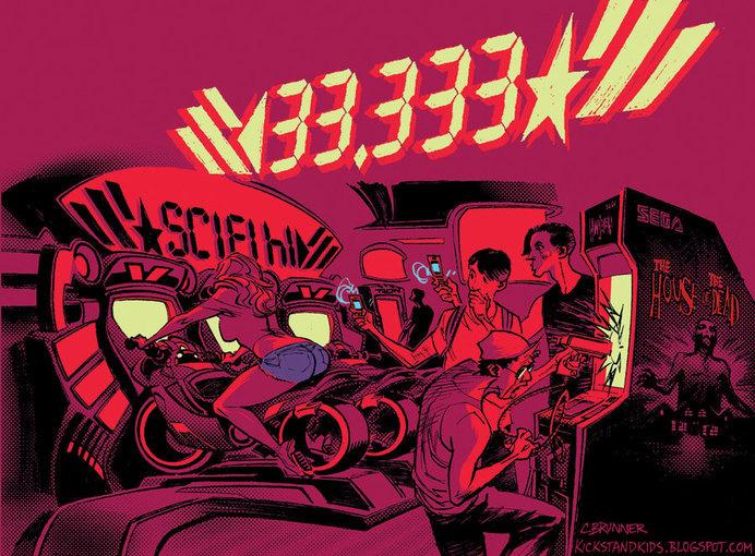 33,333 page views by kickstandkid78 on deviantART #33 #arcade #333 #videogames