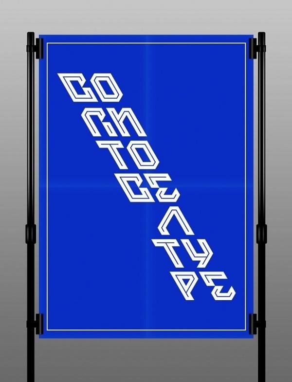 Air - A New Typo by Oriol Bedia / 2otsu   Slanted - Typo Weblog und Magazin #typodesign #modern #air #2otsu #blue #typography