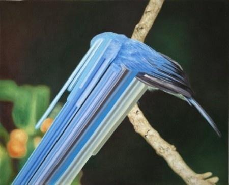 Maurizio Bongiovanni » ISO50 Blog – The Blog of Scott Hansen (Tycho / ISO50) #maurizo #bongiovanni #bird #painting #art