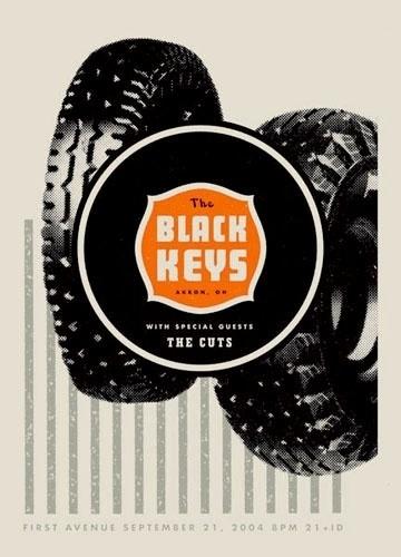 Aesthetic Apparatus: THE BLACK KEYS #apparatus #tire #aesthetic #poster