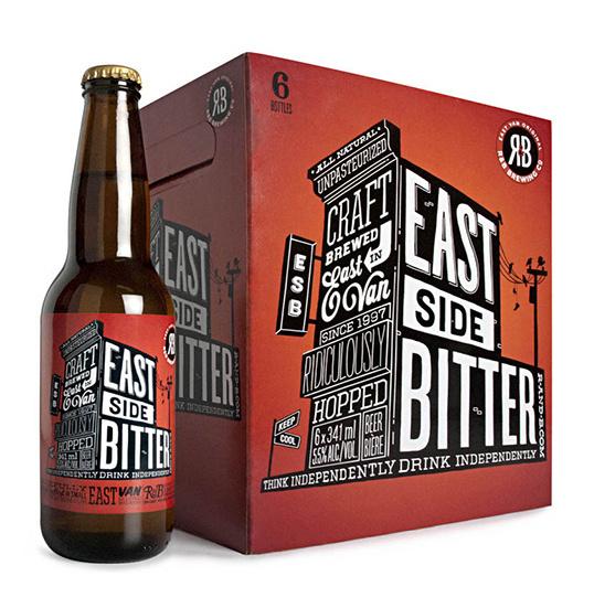 eastside beer #beer #packaging #design #label #identity #drawn #type #hand #typography