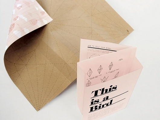 This is Origami – Magdalena Czarnecki #origami #print #design #graphic