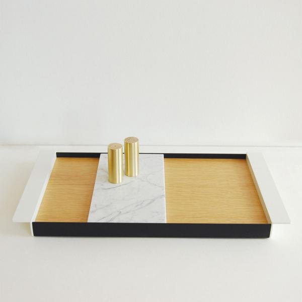 Perimeter Tray by Ladies and Gentlemen Studio #tray #minimalist #design #minimal