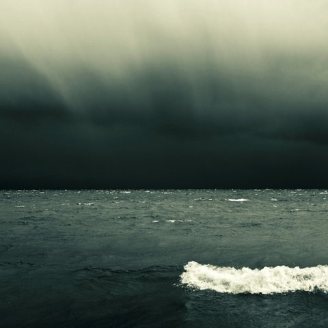 FFFFOUND! | this isn't happiness.™ #ocean #sadness #wave