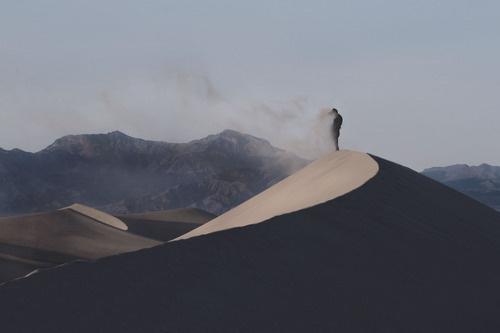 Sleepless Dreams | disclosur: Joshua Malik #wind #dune #landscape #figure #photography #sand #nature