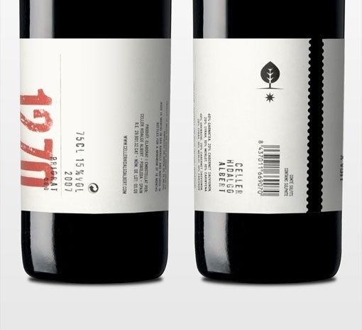 design work life » cataloging inspiration daily #packaging #print #design #graphic #wine