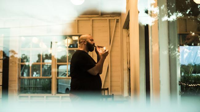 LaughingSamurai_Bonfire2014_Cigar #cigar #photography #reflection