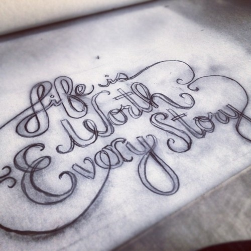 http://simiautomatic.tumblr.com/ #lettered #lettering #design #diy #type #hand #typography