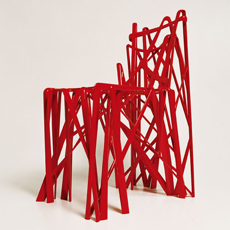 Stedelijk Museum acquires first 3D-printed chair #furniture #print #3d