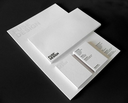 Fuse Design Identity #identity #stationery
